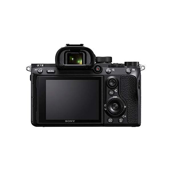 RetinaPix Sony Alpha ILCE-7M3 Full-Frame 24.2MP Mirrorless Digital SLR Camera Body (4K Vlogging Camera, Low Light Camera) + SanDisk 128GB Extreme Pro SDXC UHS-I Card - C10, U3, V30, 4K UHD, SD Card