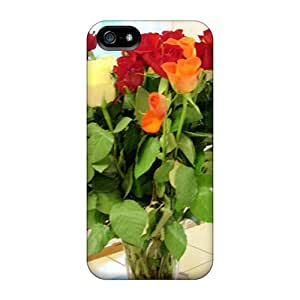 Iphone 5/5s SlPpxjl3442HQaCB Bouquet De Fleur Tpu Silicone Gel Case Cover. Fits Iphone 5/5s