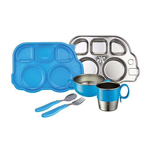 Innobaby Din Din Smart Stainless Steel Dinnerware Gift Set