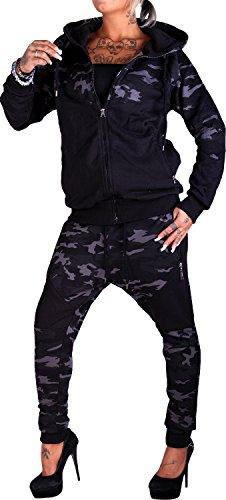 Violento - Chándal - para mujer Anthrazit Camouflage