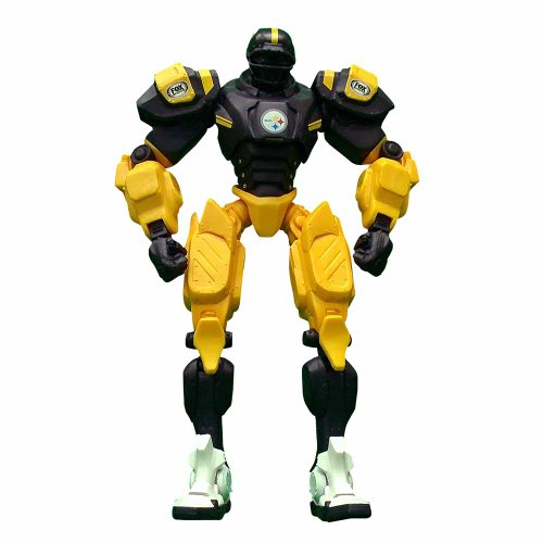 NFL Pittsburgh Steelers Fox Sports Team Robot, 10-inches