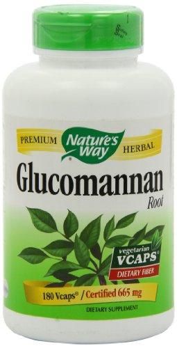 Nature Way Glucomannan Root, 665 mg, 180 VCaps