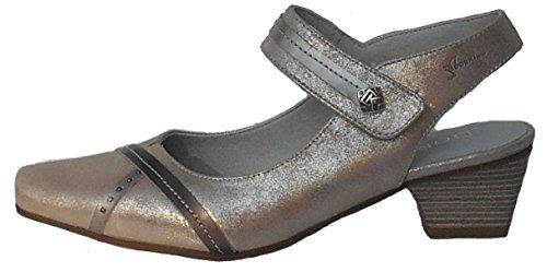 de Dorking Vestir Lisa Piel de Mujer Zapatos 5qqxnr1EwU
