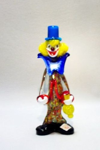 Belco FP-04B 9'' Murano Glass Clown