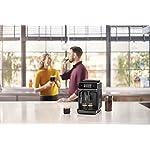 Philips-Serie-2200-EP222010-Macchina-da-Caffe-Automatica-2-Bevande-con-Macine-in-Ceramica-Filtro-AquaClean-Pannarello-Classico-15-bar-1500-W-18-Litri-Nero-Satinato
