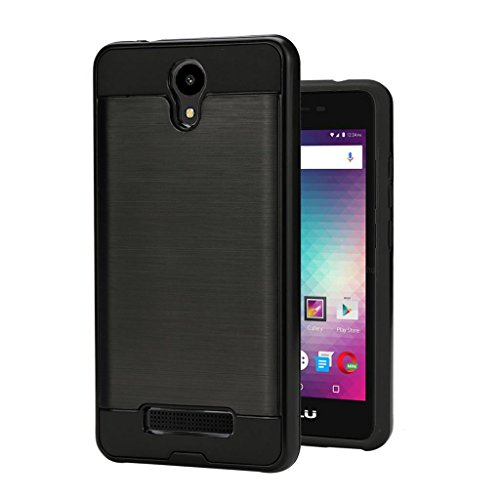 BLU Studio G2 / Studio G HD LTE case, {NFW} Tough Hybrid Armor Shock Resistance Proof Case Cover for BLU Studio G2 (S010Q) / Studio G HD LTE (S0250UU)(VGC Black)