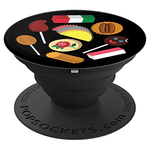 Mexican Candy Favorites Dulces Mexicanos - PopSockets Grip and Stand for Phones and Tablets