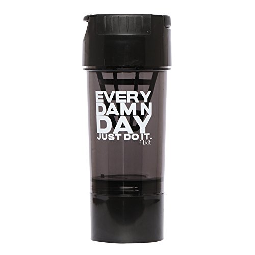 Fitkit Smart One FK98612 Every Damn Day-Just Do It Bottle Shaker