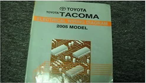 2005 tacoma wiring diagram 2005 toyota tacoma electrical wiring service manual ewd toyota  2005 toyota tacoma electrical wiring