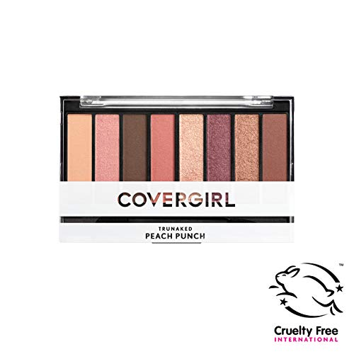 Covergirl Trunaked Scented Eye Shadow Palette, Peach Punch 840, 0.22 Ounce
