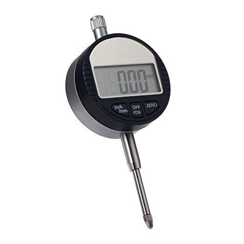 Indicator Dial Digital (AUTOUTLET Digital Dial Indicator Probe 0.01mm/0.0005'' Range DTI Gauge Dial Test Indicator 25.4mm/1'' High-precision Measurement Industrial Indicators)