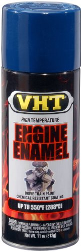VHT ESP755007-6 PK Competition Ford Blue High Temperature Engine Enamel - 11 oz. Aerosol, (Case of 6)