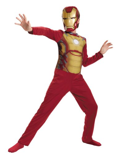 Mark 42 Iron Man Costumes (IRON MAN MARK 42 CHILD BASIC 7)