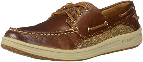(Sperry Men's Gold Cup Gamefish 3-Eye Boat Shoe, Brown, 13 M US)