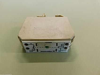 Weidmuller EG 2 EN Relay Transmitter Terminal Block Amazoncom