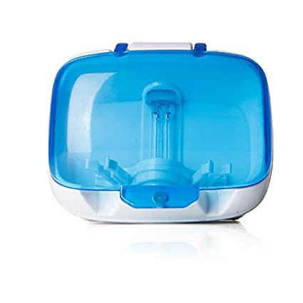 Esterilizador Sanitizer cepillo de dientes UV Caja Soporte UV Dental Care – limpiador para familia funda
