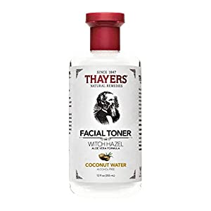 THAYERS Alcohol-Free Coconut Water Witch Hazel Facial Toner with Aloe Vera Formula, 12 Ounce