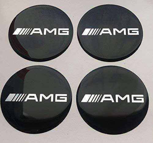 Entrenamiento; 60mm Pegatinas Emblema para llantas Buje Tapa Tapacubos 4 unidades