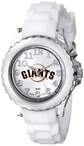 """Game Time Youth MLB-FLW-SF """"Flash White"""" Watch - San Francisco Giants"""