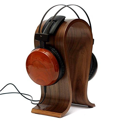 Wooden U-shape Display Stand Hanger Holder Rack for Headset Earphone Headphone