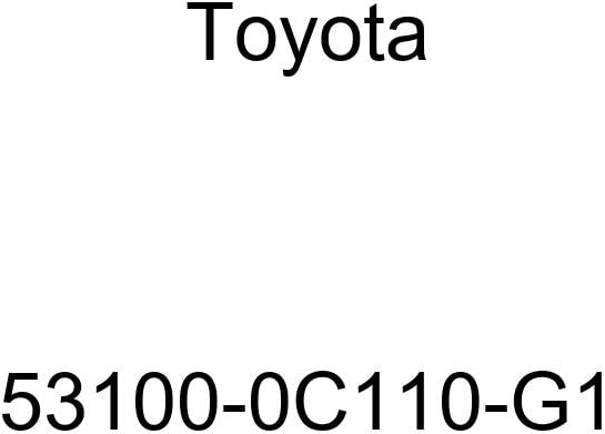 Toyota 53100-0C110-G1 Radiator Grille Sub Assembly
