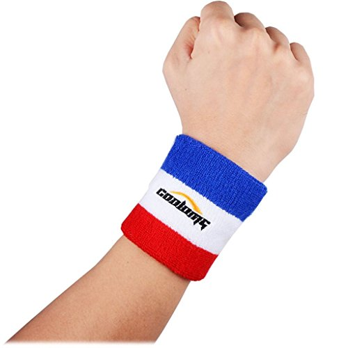 Wrist Sweatband COOLOMG Logo Printed Cot - Logo Sweatband Shopping Results
