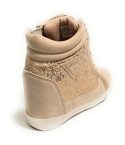 Guess Women's Footwear Active Lady Trainers, Silver Gold (Gold Gold)
