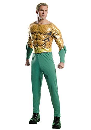Rubie's Adult Aquaman Costume Large Gold,Kelly -