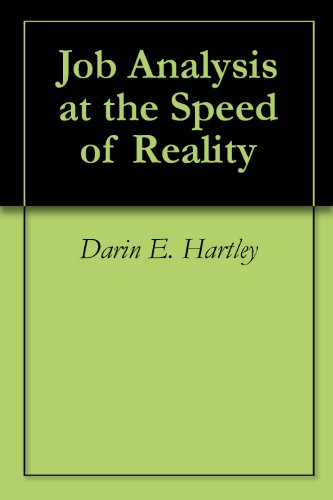 Amazon job analysis at the speed of reality ebook darin e job analysis at the speed of reality by hartley darin e fandeluxe Images