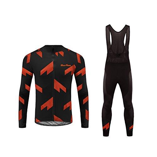 Uglyfrog 2017 UG6 New Classical Thermal Fleece Winter Long Sleeve Cycling Jersey+Long Pant Set Mountain Triathlon - Triathlon Africa South Clothing