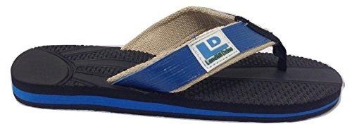 Image result for Landfill Dzine Mens Recycled Flip Flops blue