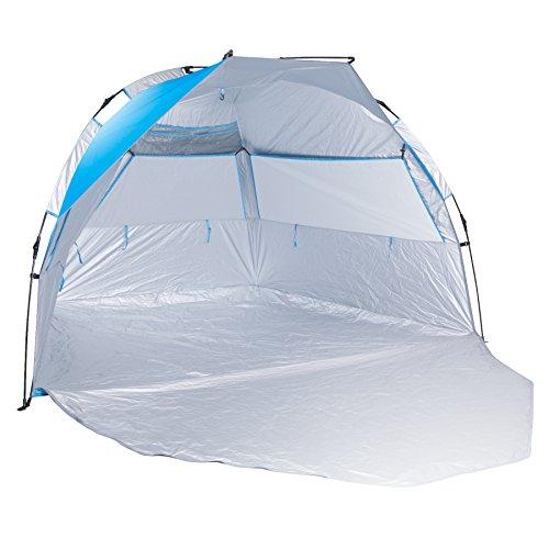 Small Portable Canopy : Beach tent compact outdoor portable sun shade