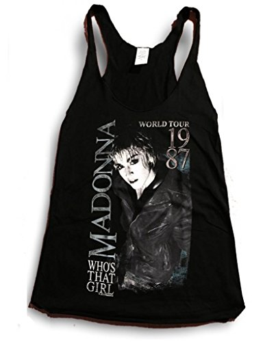 Official Who's That Girl Tour Tank Top. Juniors Fit. M, L