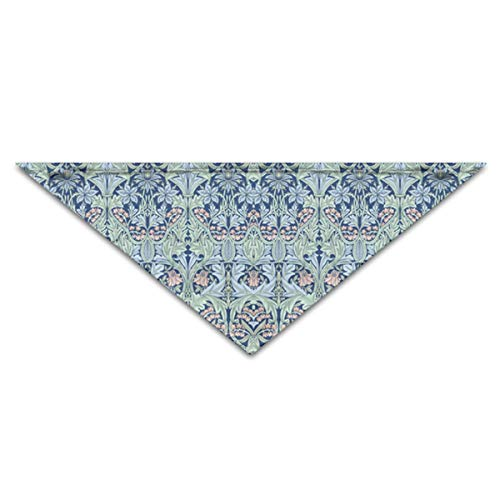 OLOSARO Dog Bandana Bluebell Columbine Triangle Bibs Scarf Accessories for Dogs Cats Pets Animals ()
