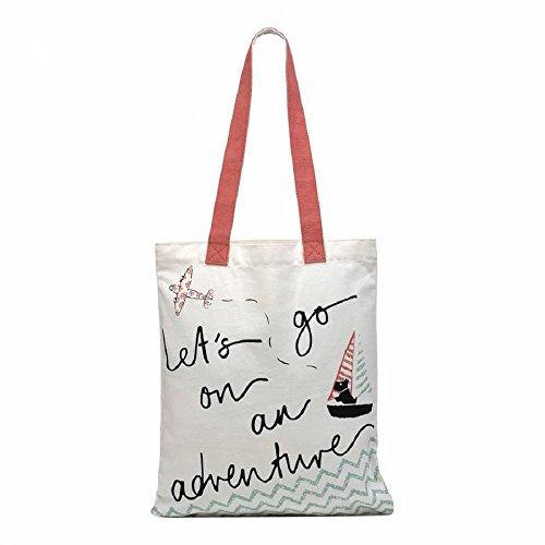beach bag Design Adventure Radley canvas tote bag On An shopper TvvIFqR6