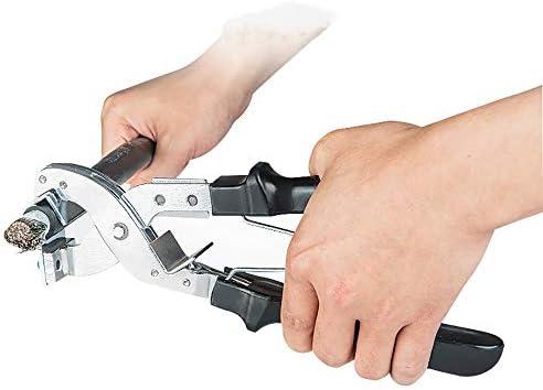 CGOLDENWALL ワイヤーストリッパー 剥線機 φ15mm-30mm 35-300m² 太線用 線径調整可能 絶縁電線/架空電線/ケーブル 剥離ツール 皮むき器