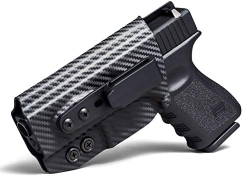Concealment Express Tuckable IWB KYDEX Holster: fits Beretta 92 Compact - Custom Fit - US Made - Inside Waistband - Adj. Cant, Retention, Ride Height - Claw Compatible