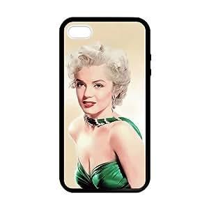 lintao diy Marilyn Monroe Green Dress Case for iPhone 5 5s case