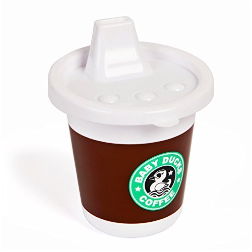 Gama-Go Rise & Shine Baby Ducks Coffee Sippy Cup
