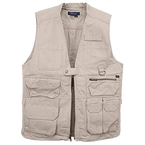 (5.11 Lightweight Tactical Conceal Carry Vest with 17 Pockets Dual CCW for Outdoor Tactical Work, Style 80001)