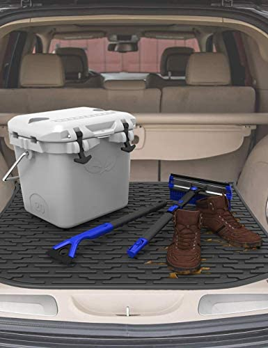 JOYTUTUS Cargo Mat Trunk Liner Compatible with Grand Cherokee, Cargo Liner All Weather Vehicle Carpet Heavy Duty Waterproof Odorless Durable are compatible Grand Cherokee 2011-2020