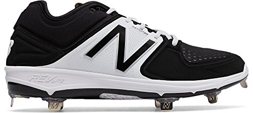 - New Balance Men's L3000V3 Baseball Shoe-M, Red/White, 14 D US