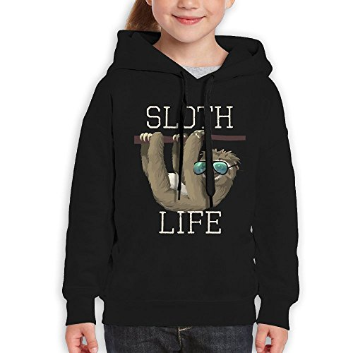 FDFAF Teenager Youth Sloth Life Funny Animal Sunglasses Hiking Particular Hoodie Hoodies L - Sunglasses Prices Versace