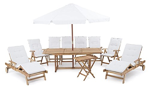 Riviera Chaise Lounge Set - 4