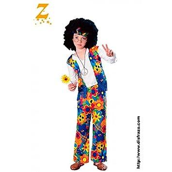 e56b9a02c Rubie's - Disfraz de hippie para niño, infantil 5-7 años (18663-M)