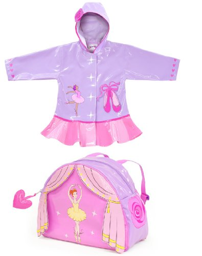 Kidorable Raincoat WITH Backpack- Ballerina