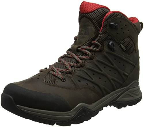 The North Face Men's M Hh Ii Md GTX High Rise Hiking Boots Brown (Bone Brown/Rage Red 4dc) E1xK6Rfl