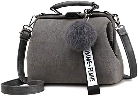 韓国のシンプルな野生のバックパック、レトロなファッションスクラブバッグメッセンジャーバッグ、ショルダーバッグ、グレー 美しいファッション