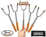Marshmallow Roasting Sticks-Telescoping Marshmallow Sticks, Hot Dog Roasting Sticks, 45