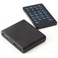 Displays2go HDMPBK01 Digital Signage Publisher, HD Media Player with SD & USB Input, Remote Control